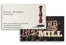 Pearlized Uncoated Premium Business Cards