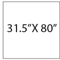 Retractable Banner 31.5X80