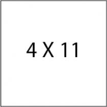 Post Card 4X11