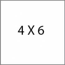 4X6 Die cut flyers