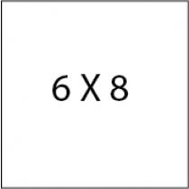 6X8 Die cut postcards