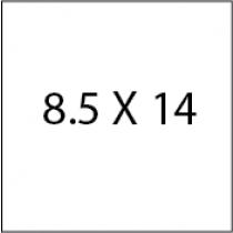 8.5X14 Carry out menu
