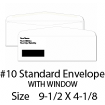 Envelope 10 Window