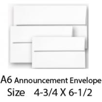 Envelope A6