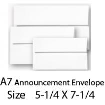 Envelope A7