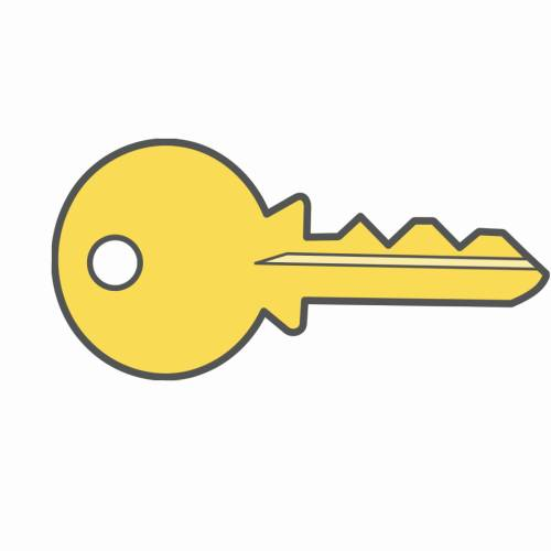 Key shaped business cards colourmoves